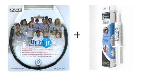 Thrive Jr. 10g Necklace + Replenish Combo Pack