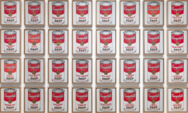 Andy Warhol - Campbell Cans - MoMA