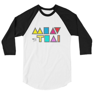 "MuayThai ""ICON"" 3/4 sleeve shirt"