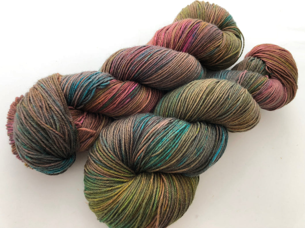 Similar But Different on Superwash 75% Superwash Merino/25% Nylon Sock