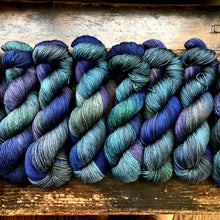 New Dawn on Superwash Merino Cashmere Nylon MCN 2-Ply Twist Sock