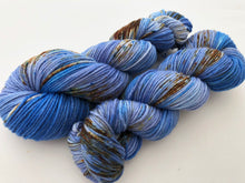 Eco Print #2 on 100% Superwash Merino Worsted