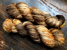 Firewood on 100% Superwash Merino Worsted