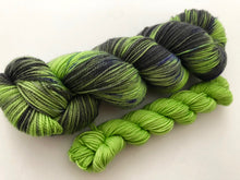 Frankenstein's Monster on 80% Superwash Merino/20% Nylon 2-Ply Twist Sock