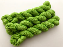 Chartreuse Kettle Dyed Mini Sock Skeins