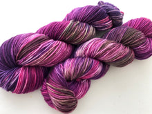 Flowering Cabbage on 100% Superwash Merino DK