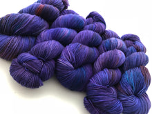 Nehi Grape Soda on Superwash 75 BFL/25 Nylon 4-Ply Sock