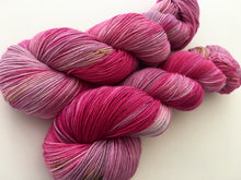 Reserved order for Colleen: Da Bomb on Superwash 75% Superwash Merino/25% Nylon Sock