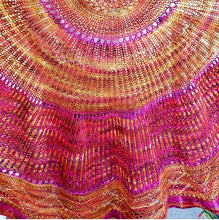 Diva Shawl Yarn Set  on 75 Superwash Merino/25 Nylon Sock