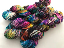 Cyclone* on 100% Superwash Merino Single Ply Sock High-Twist