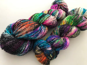 Cyclone on NEW SHIMMER Sock with LUREX