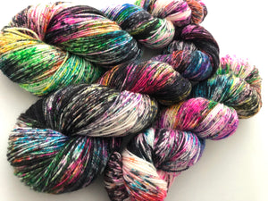 Cyclone* on 75% Superwash BFL/25% Nylon 2-Ply Twist Sock