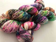 Cyclone* on Silver Sparkle Sock