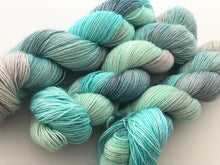Oceana on 100% Superwash Merino Single Ply Sock High-Twist