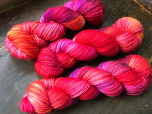 Red Barn on Silver Sparkle Sock