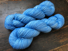 Sky on Superwash 75% Superwash Merino/25% Nylon Sock
