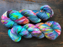 Hella Jella Fish on 80% Superwash Merino/10% Cashmere/10% Nylon Sock