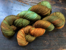 Rusty Copper on 75% Superwash BFL/25% Nylon Sock
