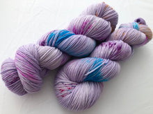 Hyacinth on 80% Superwash Merino/20% Nylon 2-Ply Twist Sock