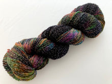 Oil Slick on Shimmer Sock with Lurex