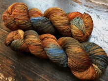 Country Road on 100% Superwash Merino Single Ply Sock High-Twist