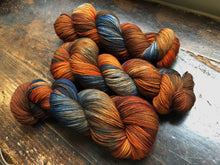 Country Road on 80% Superwash Merino/20% Nylon 2-Ply Twist Sock