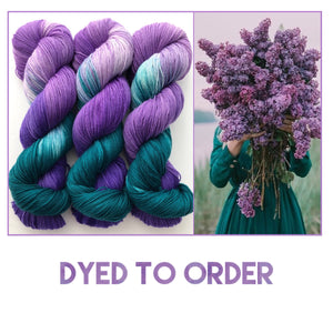 Reserved order for Shelley--May Day Bouquet DYED TO ORDER