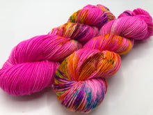 Lawn Flamingo on 100% Superwash Merino DK