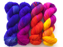Sunrise SunSET Yarn Set on 75 Superwash Merino/25 Nylon Sock