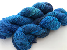 **Highs & Lows on MOHAIR/merino/nylon blend 4-Ply Sock