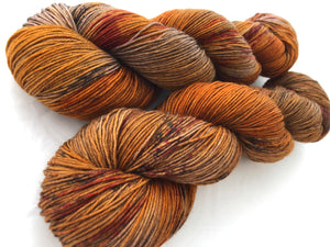 Chestnut on Superwash 75% Superwash Merino/25% Nylon Sock