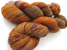 Chestnut on 80% Superwash Merino/20% Nylon 2-Ply Twist Sock