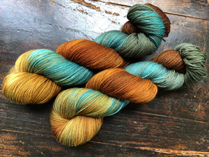 **Fall Fling on 100% Superwash Merino DK