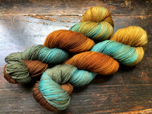 Reserved order for Angela: Fall Fling on Superwash 75% Superwash Merino/25% Nylon Sock