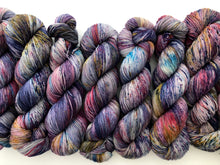 Witch's Brew on 80% Superwash Merino/20% Nylon 2-Ply Twist Sock