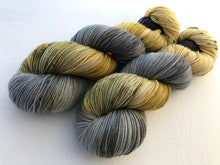 Oysters and Champagne  on 80% Superwash Merino/20% Nylon 2-Ply Twist Sock