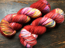 Vampire Candy on 100% Superwash Merino DK