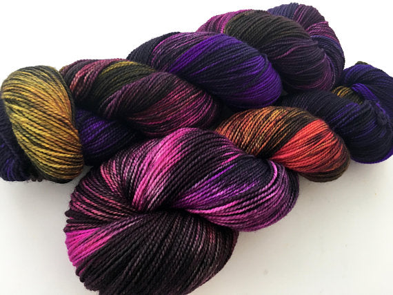Witch's Tit on 100% Superwash Merino 3 ply Sport