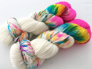 Reserved order for Kristen: Party Like It's 6/26/15! on Superwash 75% Superwash Merino/25% Nylon Sock