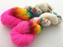 Party Like It's 6/26/15! on 80% Superwash Merino/20% Nylon 2-Ply Twist Sock