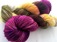 Orchids on NEW 70 Superwash Merino/30 Silk DK