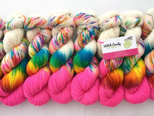 Reserved order for peacedaisies: Party Like It's 6/26/15! on Superwash 75% Superwash Merino/25% Nylon Sock