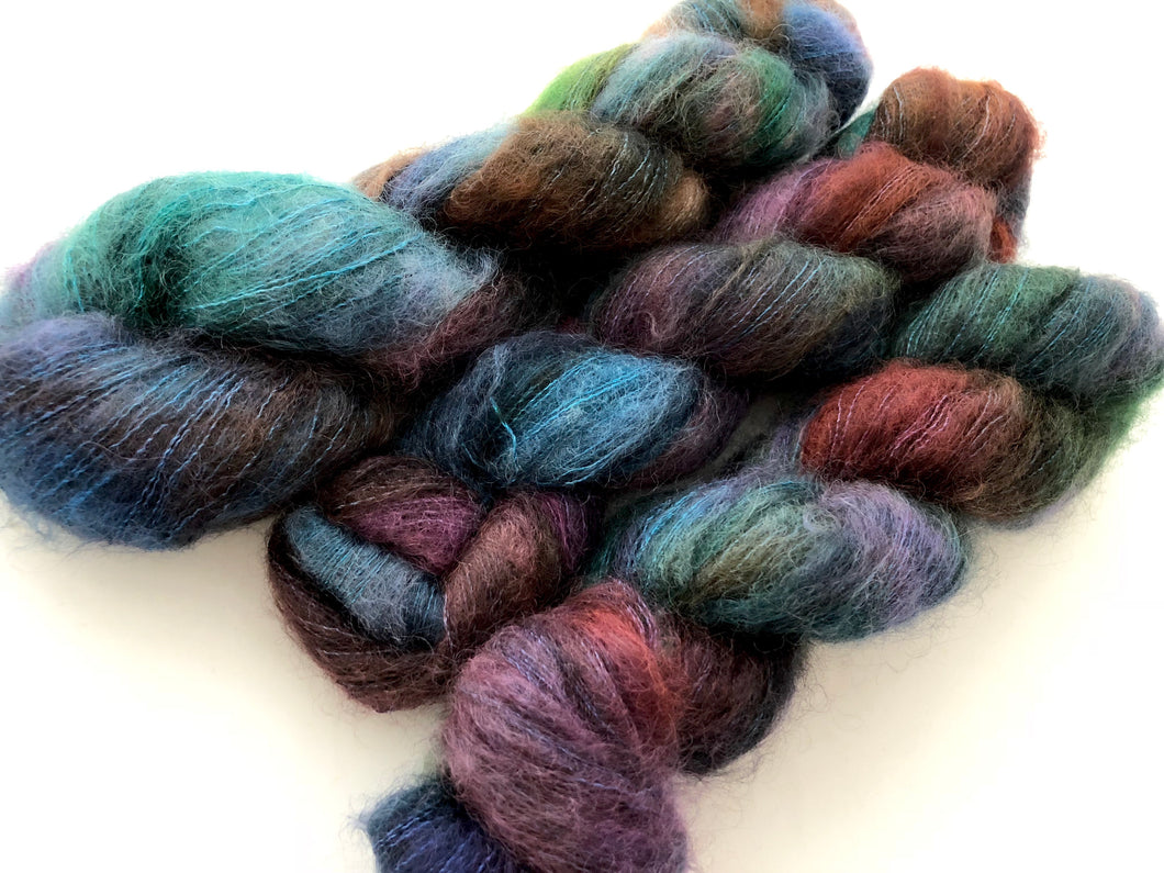 Reserved order for Sfisher323:  Fortune Teller on 72% Kid Mohair/28% Mulberry Silk Blend Lace