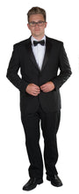 Load image into Gallery viewer, Men's Slim Cut Tuxedo Black