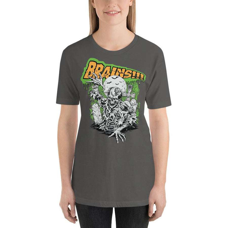 WOMEN'S BRAINS! SHORT SLEEVE TEE - Deadcelebritee | Subculture Tees