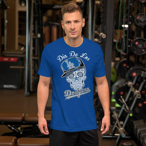 MEN'S DIA DE LOS DODGERS  SHORT SLEEVE TEE - Deadcelebritee | Subculture Tees