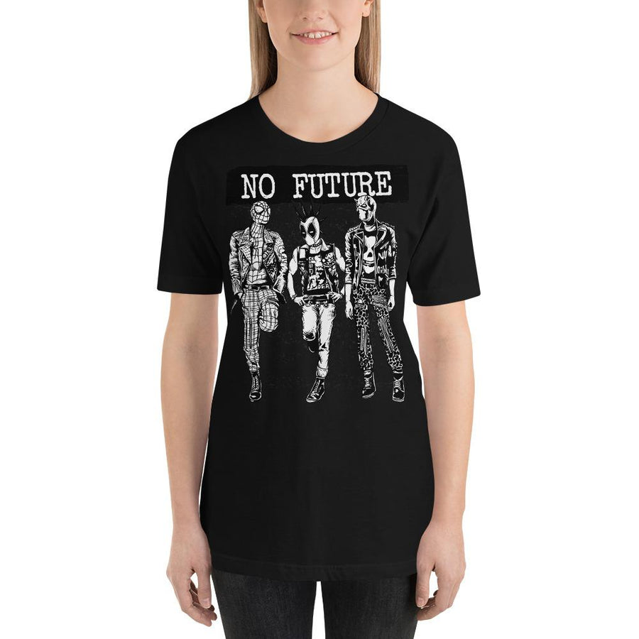 WOMEN'S NO FUTURE SHORT SLEEVE TEE - Deadcelebritee | Subculture Tees