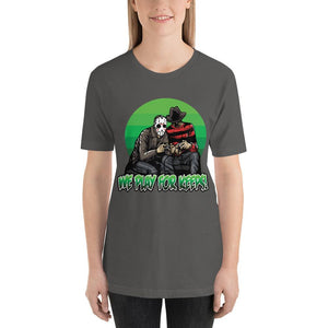 WOMEN'S PLAY FOR KEEPS SHORT SLEEVE TEE - Deadcelebritee | Subculture Tees