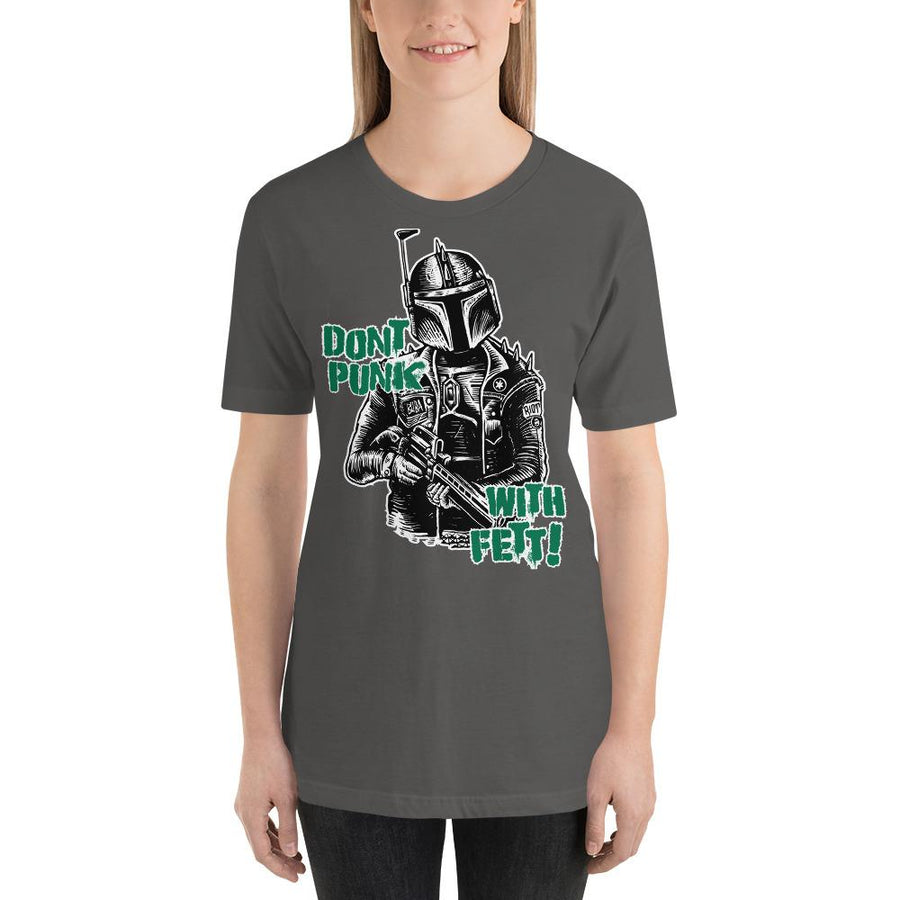 WOMEN'S PUNK FETT SHORT SLEEVE TEE - Deadcelebritee | Subculture Tees