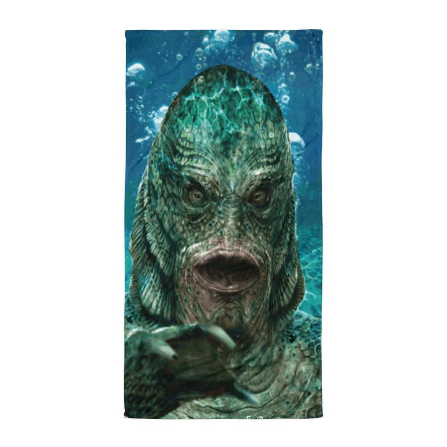 SWAMP FACE FULL COLOR SUBLIMATED TOWEL - Deadcelebritee | Subculture Tees